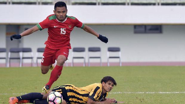 Saddil Ramdani mengalami cedera hamstring saat bersama Persela Lamongan.
