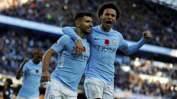 Manchester City tampil apik di awal musim ini dengan mencatat 10 kemenangan dan 1 hasil seri.
