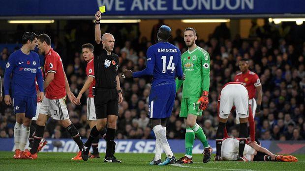 Chelsea lebih banyak mendapatkan peluang di babak pertama.