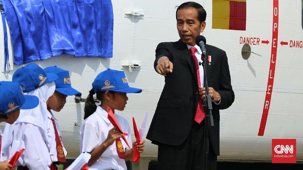 Presiden Jokowi memperingatkan bahaya bioterorisme.