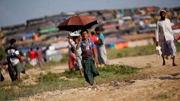Ilustrasi Rohingya.