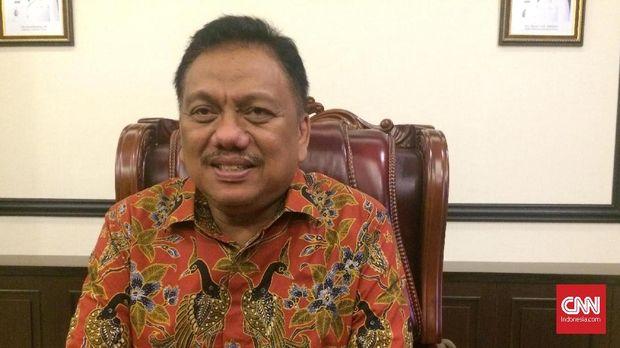 Gubernur Sulawesi Utara Olly Dondokambey di rumah dinas saat penyambutan jelang penyelenggaran Festival Film Indonesia (FFI) 2017, Jumat (10/11).