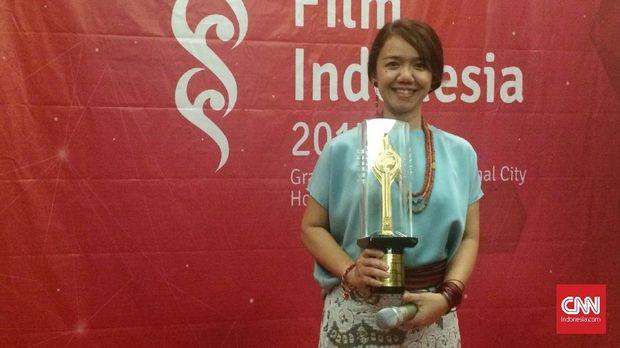 Pemenang Penata Busana Terbaik FFI 2017.