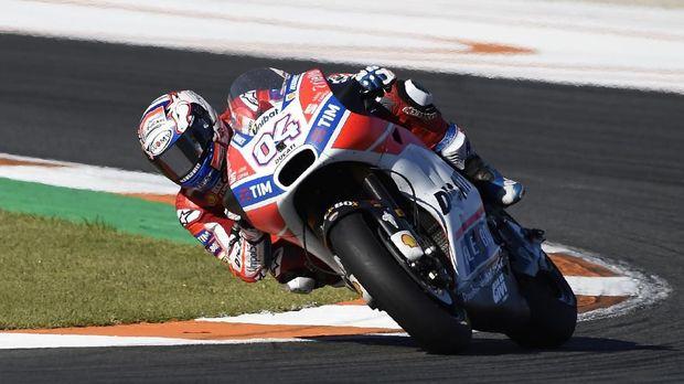 Andrea Dovizioso puas bisa bersaing di MotoGP 2017.