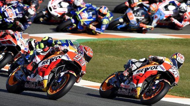 Marc Marquez jadi juara dunia MotoGP musim ini