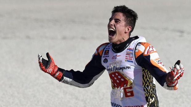 Marc Marquez telah meraih empat titel juara dunia MotoGP.