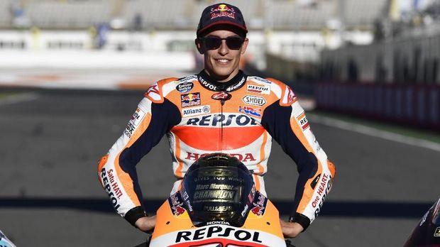 Marc Marquez merebut empat gelar juara dunia MotoGP hanya dalam lima musim.