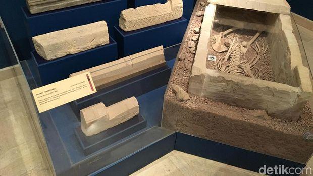 Artefak yang ditemukan