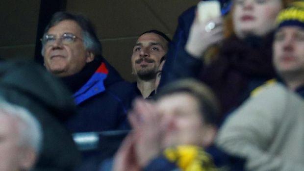 Ada Rumor Ibrahimovic Batal Pensiun demi Bela Swedia di Piala Dunia
