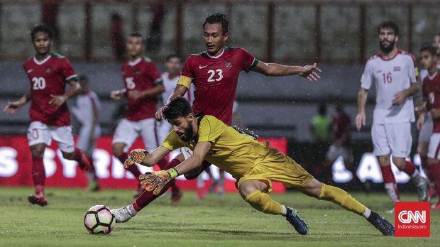 Timnas Indonesia menjalani tiga pertandingan di Tsunami Cup 2017.