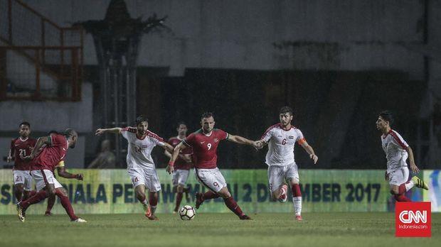 Ilija Spasojevic mengaku bangga bisa memulai debut bersama Timnas Indonesia. (