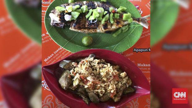 Menyantap Rasa Asli Ikan Bakar Rica Manado