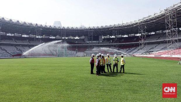 Stadion Utama Gelora Bung Karno jadi venue pembukaan dan penutupan Asian Games 2018.