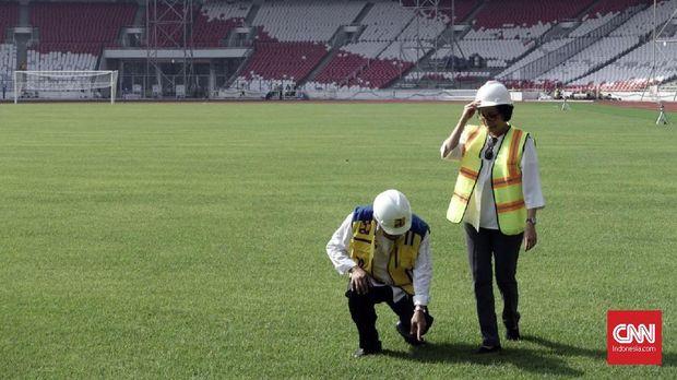 Sri Mulyani berjanji akan membantu penyelenggaraan Asian Games 2018 dengan maksimal.