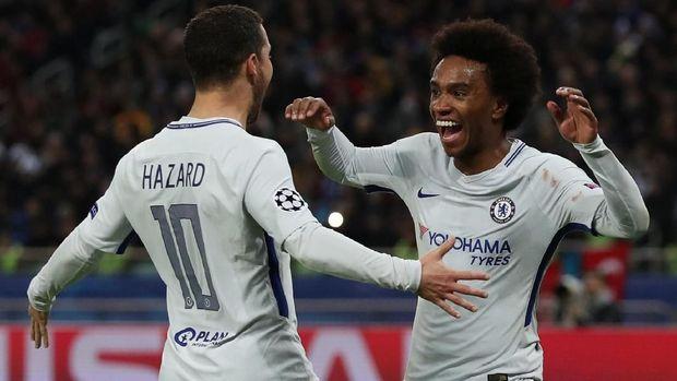 Chelsea sudah mengunci tiket babak 16 besar Liga Champions setelah menang atas Qarabag.