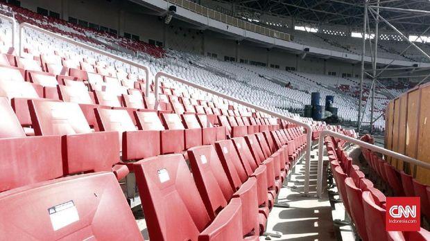 SUGBK melakukan renovasi besar-besaran jelang Asian Games 2018.