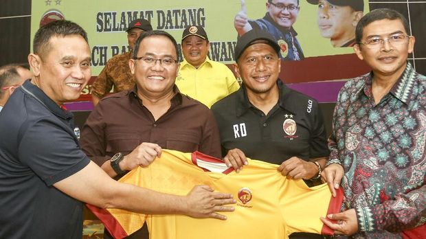 Rahmad Darmawan diharapkan bisa membawa Sriwijaya FC ke jalur juara.