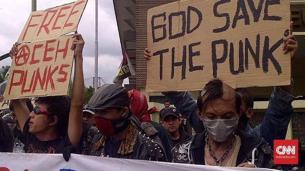 Punk Rapatkan Barisan dari Bawah Tanah