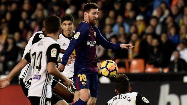 Lionel Messi akan mendapatkan gaji fantatis di Barcelona selama 4,5 tahun ke depan.