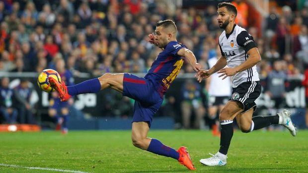 Gol Jordi Alba hindarkan Barcelona dari kekalahan.