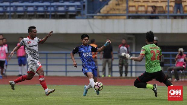 PSIS Semarang harus melalui pertarungan yang sengit melawan Martapura FC.