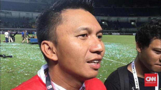 Presiden Persebaya Azrul Ananda menyerah dalam usaha kembali memboyong Andik Vermansah.