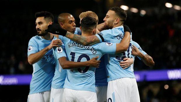 Manchester City jadi tim paling tangguh sejauh musim berjalan.