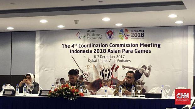 INAPGOC memiliki banyak tantangan untuk bisa menggelar Asian para Games 2018.