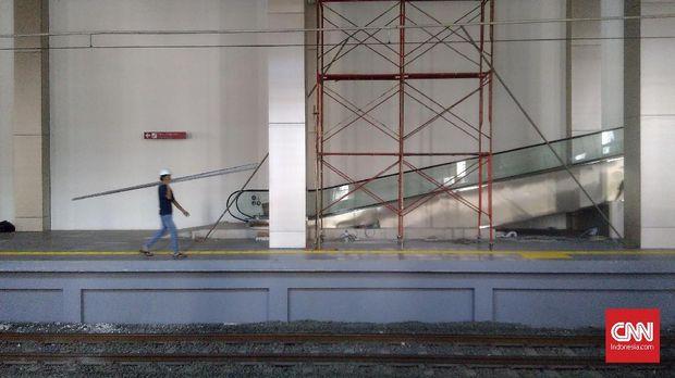 Mengintip Stasiun Titik Awal Keberangkatan Kereta Bandara
