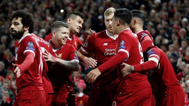 Liverpool memastikan ke babak 16 besar sebagai juara Grup E. (