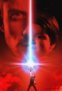 Keren! Saat Sekeluarga Jadi 'Model' Poster Star Wars