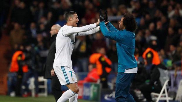Cristiano Ronaldo menjadi satu-satunya pemain yang selalu mencetak gol di fase grup Liga Champions.