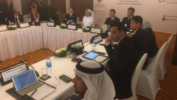 INAPGOC saat menggelar pertemuan di Dubai, Uni Emirat Arab.