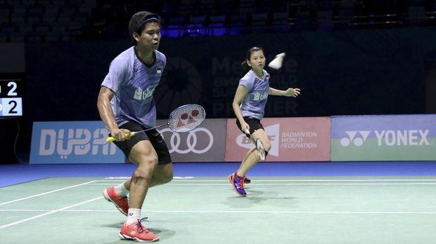 Praveen/Debby akan menghadapi ganda campuran nomor satu dunia asal China, Zheng Siwei/Chen Qingchen. (