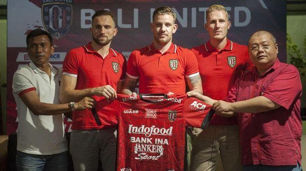 Kevin Brands menjadi salah satu pemain asing Bali United di kompetisi 2018.