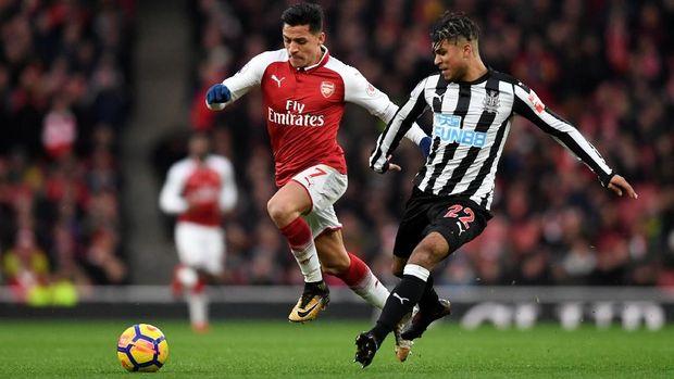 Kontrak Alexis Sanchez bersama Arsenal akan habis akhir musim ini.