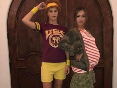 Jessica Alba sedang hamil anak ke-3/