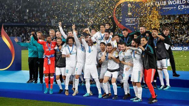 Para pemain Real Madrid mendapat bonus besar tahun ini. (