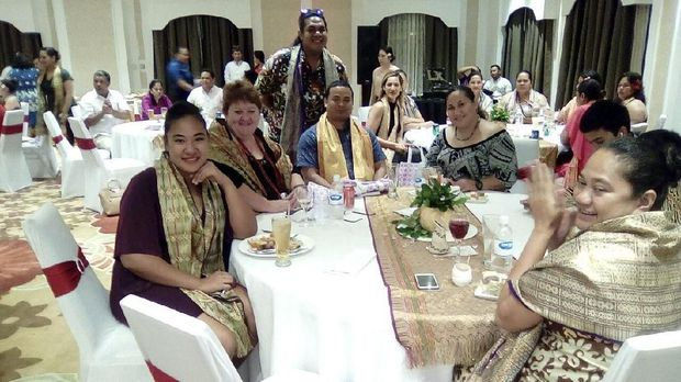 Warga Samoa antusias untuk mencicipi makanan Indonesia
