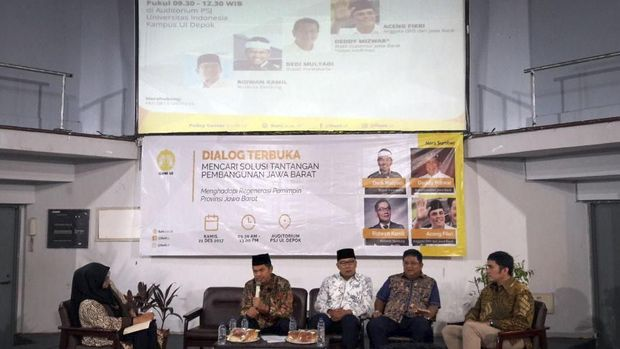 Hitungan Menit Kebersamaan Ridwan Kamil dan Dedi Mulyadi