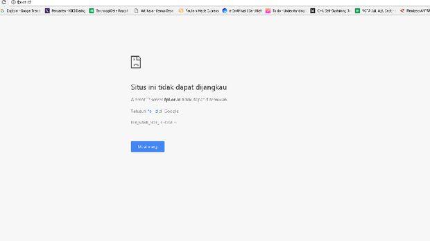 Akun Media Sosial FPI Diblokir, Situs Pun Down