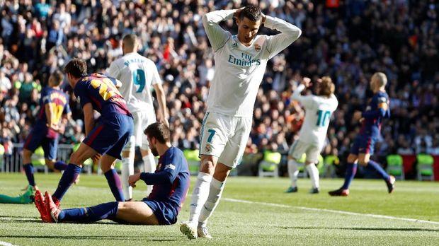 Kualitas Cristiano Ronaldo di Real Madrid dianggap kian menurun.