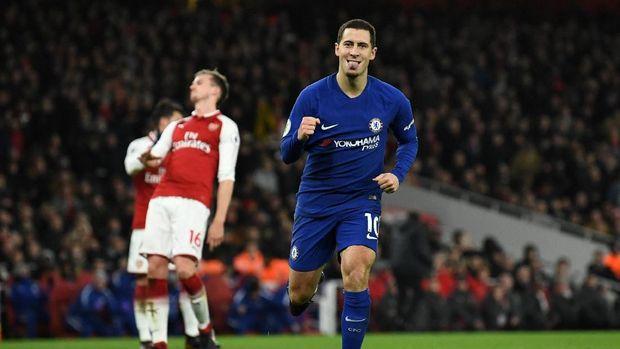 Eden Hazard kerap tidak bermain selama 90 menit dalam satu pertandingan.