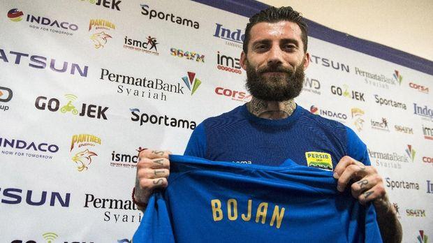 Bojan Malisic bergabung bersama Persib Bandung. (