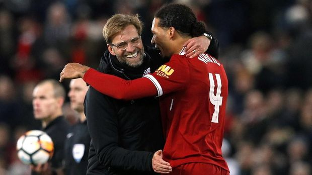 Juergen Klopp jadi salah satu alasan Virgil van Dijk datang ke Liverpool.