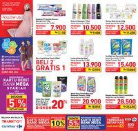 Bun, Ada Promo Sabun Mandi & Body Scrub di Transmart Carrefour
