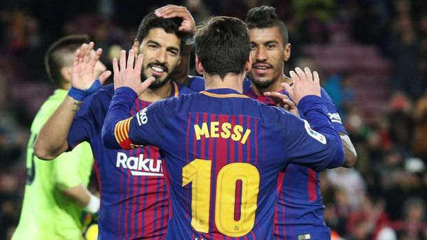 Barcelona berpeluang mencetak banyak rekor pada akhir musim.