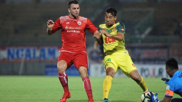 Pada awal tahun 2018, Persija sudah menjalani laga uji tanding yang melibatkan klub-klub asing.