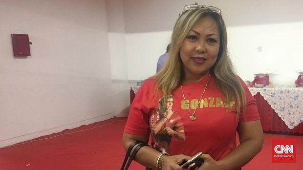 Eva Gonzales meyakini suaminya masih mampu bersaing di Liga 1 2018.