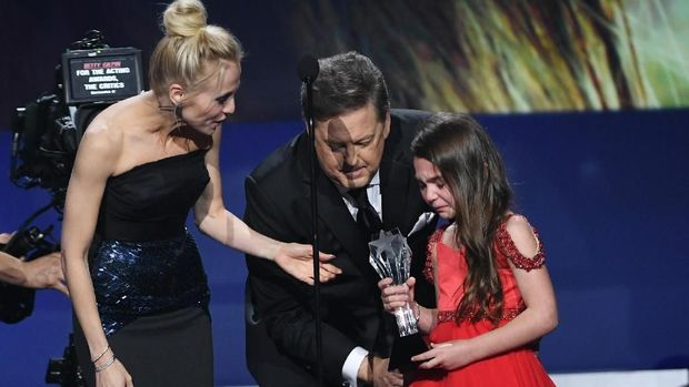 Menang Critics Choice Awards, Aktris Cilik Traktir Es Krim